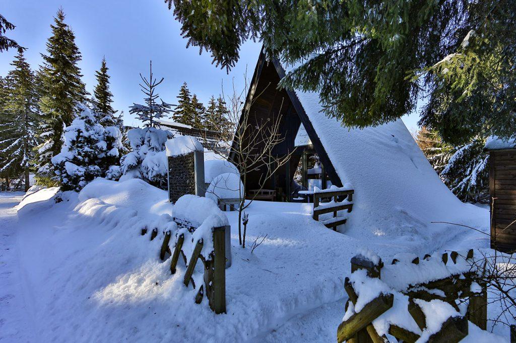 Nurdachhaus 25 im Ferienpark Waldsee