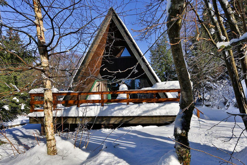 Nurdachhaus 32 im Ferienpark Waldsee