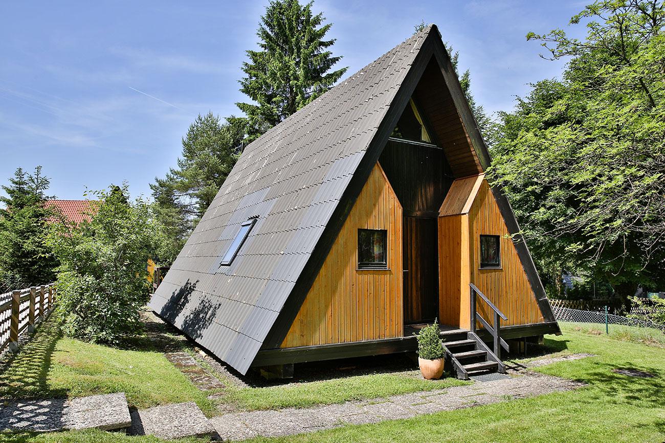 Nurdachhaus im Ferienpark Waldsee