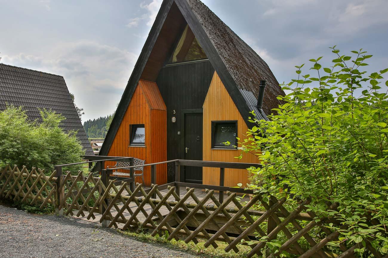 Nurdachhaus 3 im Ferienpark Waldsee