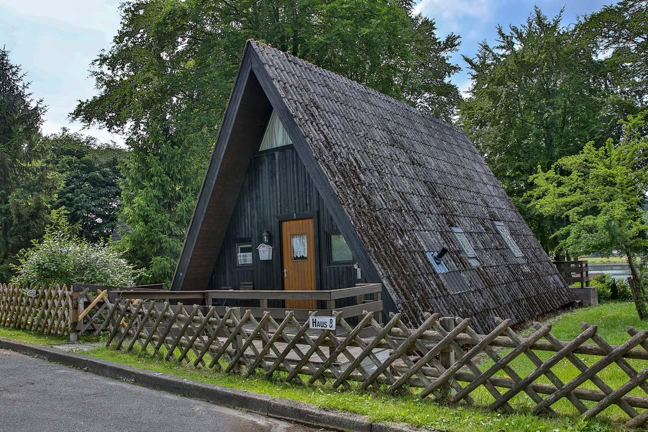 Nurdachhaus 8 im Ferienpark Waldsee