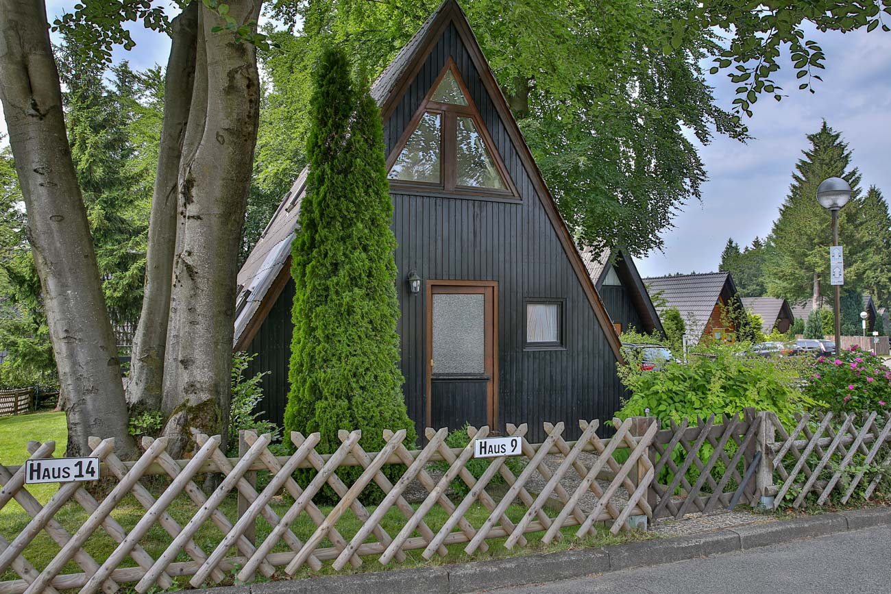 Nurdachhaus 9 im Ferienpark Waldsee