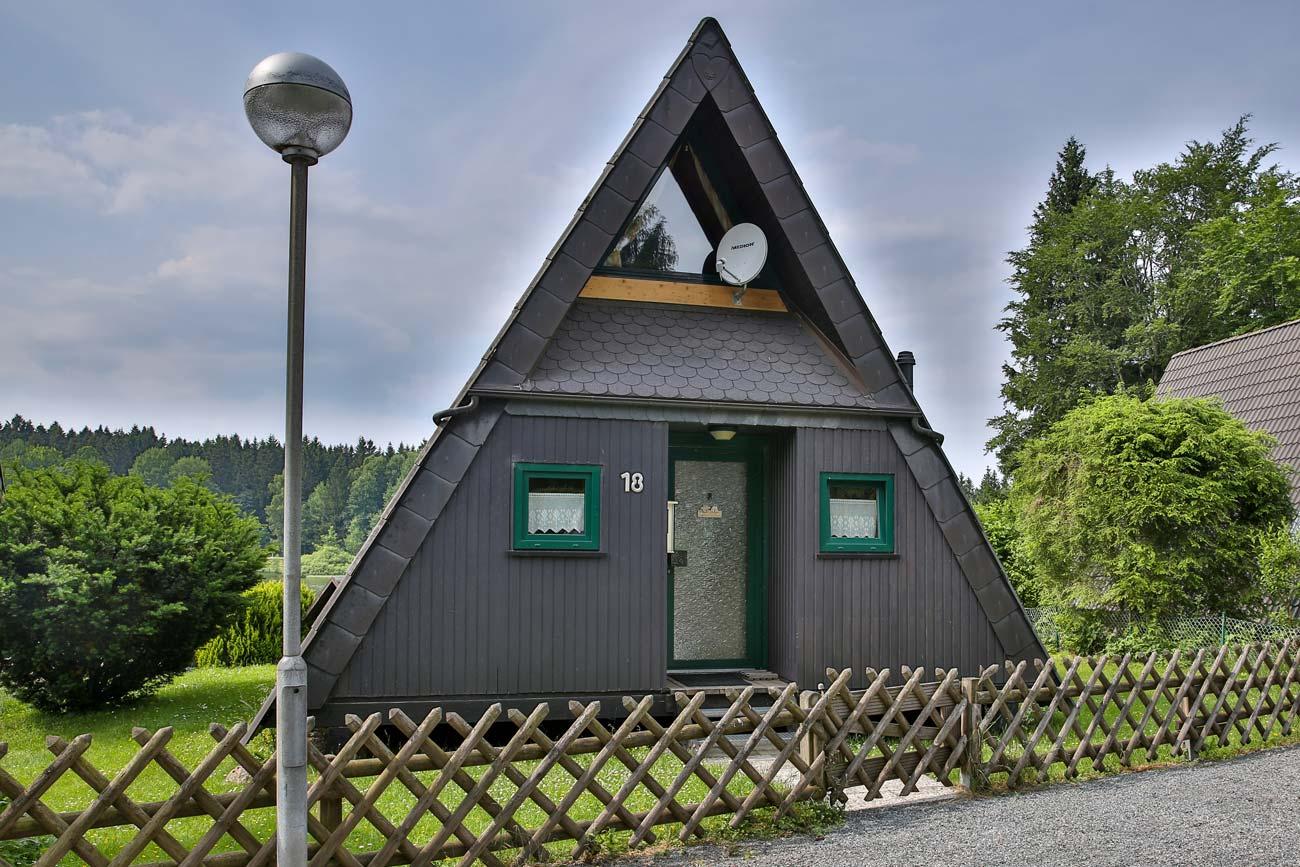 Nurdachhaus 18 im Ferienpark Waldsee