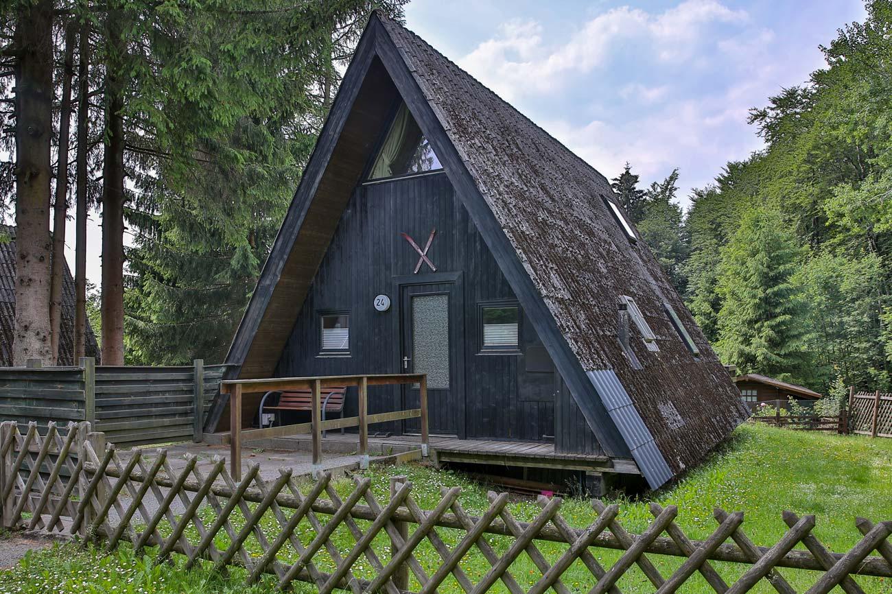 Nurdachhaus 24 im Ferienpark Waldsee