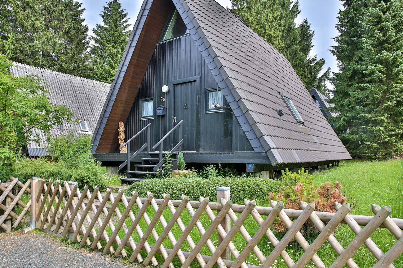 Nurdachhaus 26 im Ferienpark Waldsee