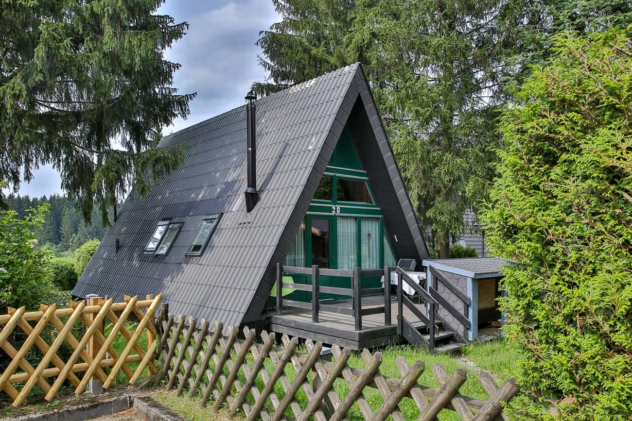 Nurdachhaus 28 im Ferienpark Waldsee