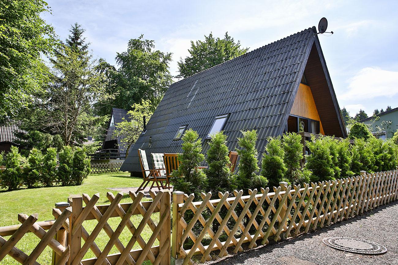 Nurdachhaus 10 im Ferienpark Waldsee