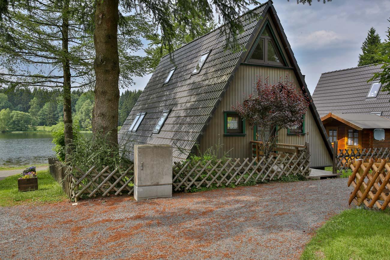 Nurdachhaus 16 im Ferienpark Waldsee
